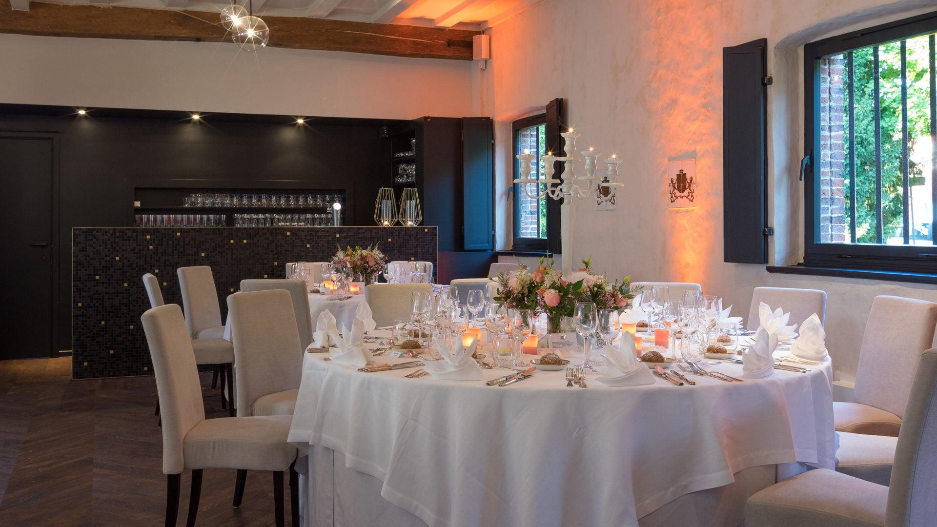 Restaurant en feestzaal - Kasteel Van Laarne