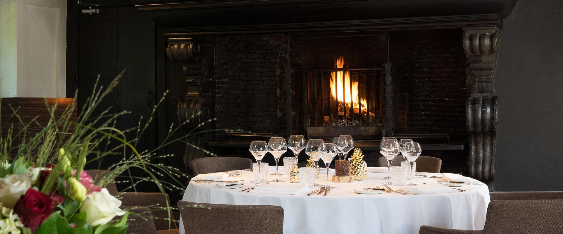 """Restaurant Feestzaal <span class=""""kvl"""">KasteelVanLaarne</span> - Kasteel Van Laarne"""